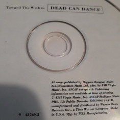 DEAD CAN DANCE - TOWARD THE WITHIN LIVE  - CD