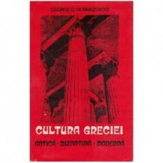 Cultura Greciei : antica-bizantina-moderna