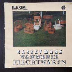 Catalog de produse, impletituri din rachita,...ILEXIM / R3S