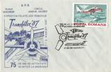 România, Transfilex '87, plic, Bucureşti, 1987