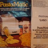 Pasta Matic. Robot ptr.spaghete,tăiței, macaroane,gnocchi..