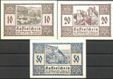 !!! AUSTRIA - LOT COMPLET NOTGELD REHBERG 1920 - UNC / CELE DIN IMAGINE