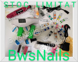 Kit CUSTADIO unghii false-gel uv, Freza, Lampa cu LED,timer SI SENZOR +CADOU, Avon