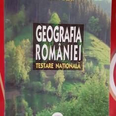 GEOGRAFIA ROMANIEI TESTARE NATIONALA - NICOLAE LAZAR