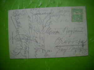 HOPCT 184 H BAIA -OCNA MURES  /  UIOARA- IN 1909 JUD ALBA -CIRCULATA