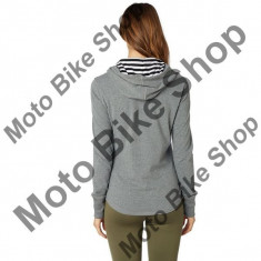 MBS FOX GIRL KAPUZENSHIRT BLOCK PASS, heather graphite, DXS, Cod Produs: 20989185XSAU