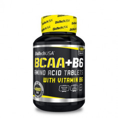 BioTech USA BCAA + vitamina B6, 100 tablete