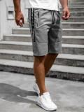 Cumpara ieftin Pantaloni scurți gri bărbați Bolf JX383