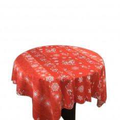 Fata de masa pentru 4 persoane, Griffin, bumbac 100%, 150x150cm, multicolor