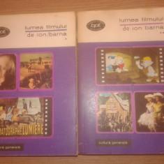 Lumea filmului (2 volume) - Ion Barna (Editura Minerva, 1971; BPT 630, 631)
