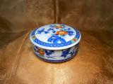 Cutiuta portelan japonez colectie cadou vintage