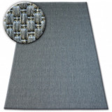 Covor sisal Flat 48663/920 antracit , 200x290 cm, Dreptunghi