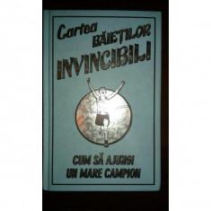 CARTEA BAIETILOR INVINCIBILI, HUW DAVIES