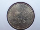 SAN MARINO 20 LIRE 1992  UNC   // F2
