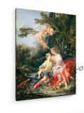 Tablou pe panza (canvas) - Boucher - Diana and Calypso