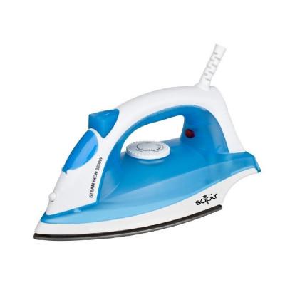 Fier de calcat SAPIR SP 1050 BRC, 2200W, 150 ml, Termostat, Albastru foto