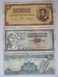 Lot 3 bancnote colectie,vedeti imaginile, Europa