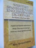 Webster's Spanish/English , English/Spanish dictionary