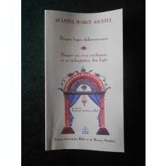 SFANTUL MARCU ASCETUL - DESPRE LEGEA DUHOVNICEASCA ...