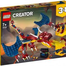 LEGO Creator - Dragon de foc 31102