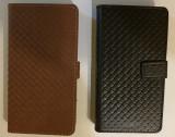 Husa originala Tellur LG Leon + stylus, Alt model telefon LG, Piele