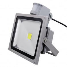 Proiector LED exterior 50W Senzor
