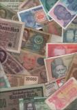 Set Lot #10 Inceput de colectie 40 de bancnote diferite stare (vezi scan)