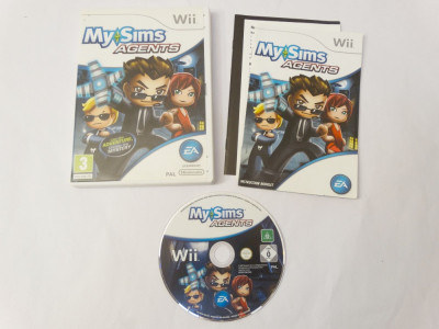 Joc Nintendo Wii - My Sims Agents foto