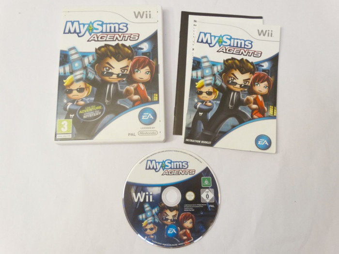 Joc Nintendo Wii - My Sims Agents