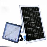 Lampa 300W Cu Incarcare Solara Panou Solar Si Telecomanda