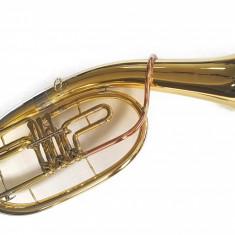 Tenor Horn Karl Glaser 3 clape Bb Bariton auriu