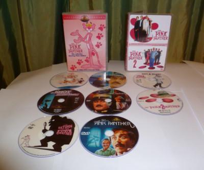 Colectia  filme Pantera roz The Pink Panther DVD foto
