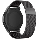 Cumpara ieftin Curea ceas Smartwatch Samsung Gear S2 Black Milanese Loop, iUni 20 mm Otel Inoxidabil