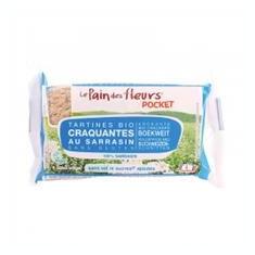 Tartine Crocante Bio Fara Gluten cu Hrisca fara Sare Le Pain Des Fleurs 18 5gr Cod: 3380380080807
