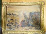 Cumpara ieftin Tablouri pictura în ulei Grigorescu - Pescarita la Grandville, Portrete, Art Nouveau