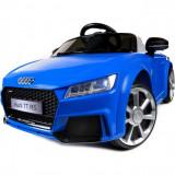 Masinuta electrica cu telecomanda AUDI TT RS Quattro albastru