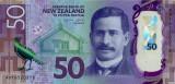 Bancnota Noua Zeelanda 50 Dolari (2016) - P194 UNC ( polimer )