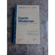 ESPRITS MODERNES - VLAD ALEXANDRESCU (CARTE IN LIMBA FRANCEZA)