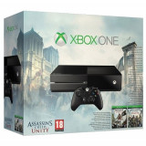 Consola XBOX One (fara Kinect) + Assassin's Creed Bundle (Black Flag & Unity - Cod Voucher)