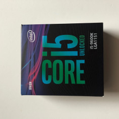 Procesor Intel i5 9600k 3.7Ghz LGA1151 NOU, Intel Core i5, 1151
