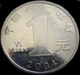 Moneda exotica 1 Yi Yuan - CHINA, anul 2004 *cod 266, Asia