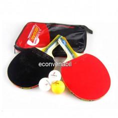 Set Tenis de Masa 2 Rachete 3 Mingi Top-Spinn 228
