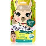 Eveline Cosmetics Magic Mask Lama Queen mască normalizatoare - matifiantă 3D
