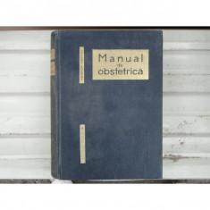 Manual de obstetrica , Heinrich Martius , 1966