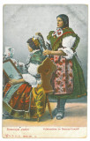 4667 - ETHNIC women, Romania - old postcard - unused