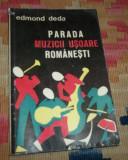 Edmond Deda - Parada muzicii usoare romanesti (1968)