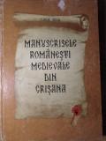 MANUSCRISE ROMANESTI MEDIEVALE DIN CRISANA-FLORIAN DUDAS