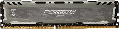 Memorie PC Crucial Ballistix Sport 8GB DDR4 LT 2666MHz CL16 BLS8G4D26BFSBK 1.2V foto