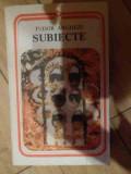 Subiecte - Tudor Arghezi ,537745