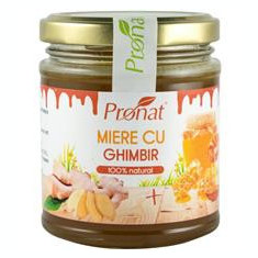 Miere cu Ghimbir 220 grame Pronat Cod: PRN08860